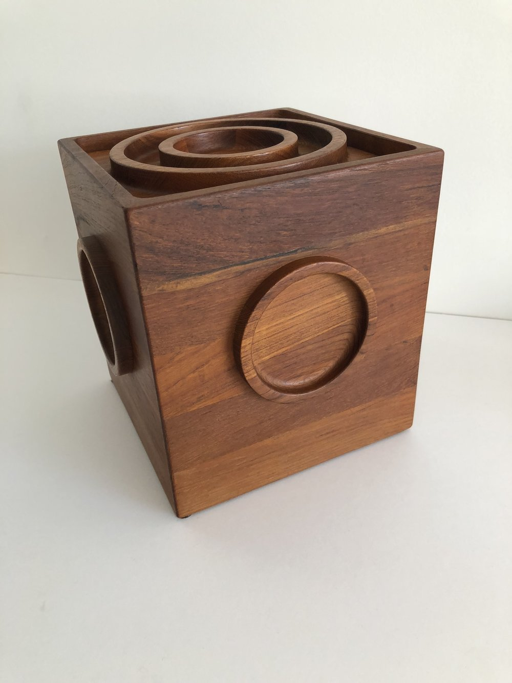 Jens Quistgaard For Dansk Teak Ice Bucket