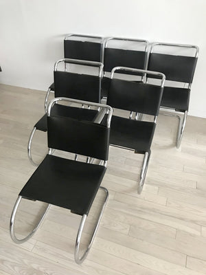 MR Chairs by Mies Van Der Rohe (Sold Individually)