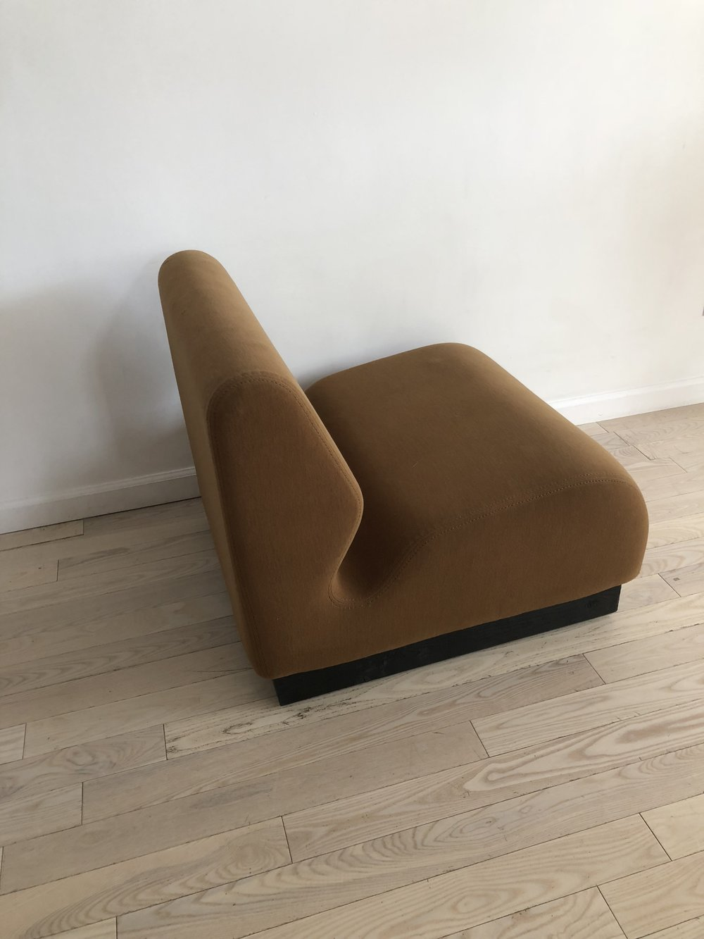 1975 Don Chadwick For Herman Miller Brown Slipper Chair