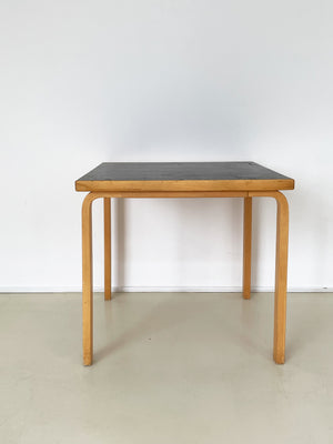 1950s Alvar Aalto Square Dining Table