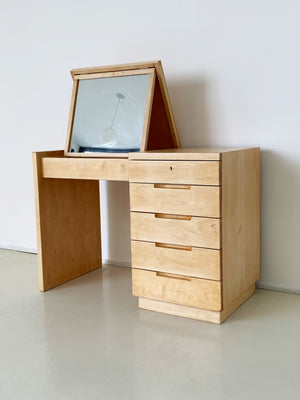 1950s Rare Birch Vanity by Alvar and Aino Aalto for Artek
