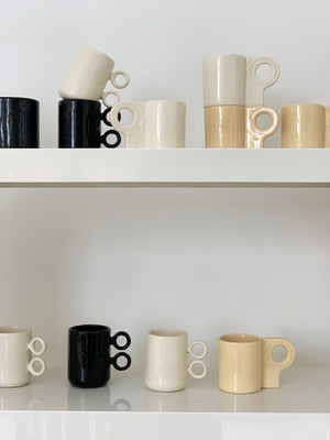 Ceramic Scissor Mugs