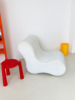 1968 Alvar PVC Lounge Chair by Giuseppe Raimondi for Gufram, Italy