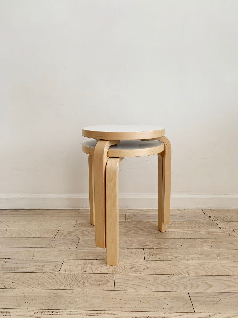 Alvar Aalto for Artek 3-Legged Stool 60 - Single