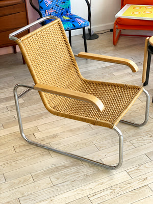 Vintage Marcel Breuer B35 Arm Chair for ICF