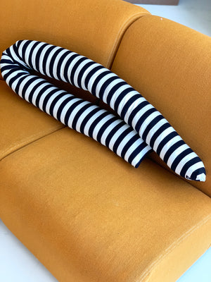 Cotton Striped Knot Pillow