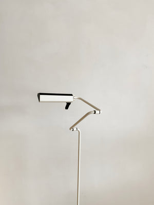 White Post Modern Bendable Floor Lamp by Belux from Spain