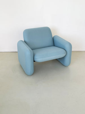 Baby Blue Ray Wilkes for Herman Miller Chiclet