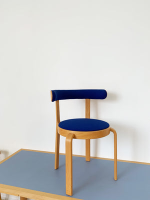 1980s Bentwood Round Chairs by Magnus Olesen - Pair