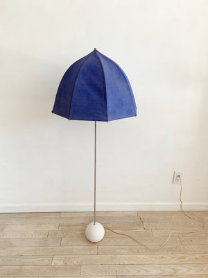 1975 Lavender George Kovacs Umbrella Floor Lamp