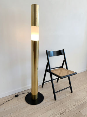 1970s Paul Mayen Brass Touch Floor Lamp