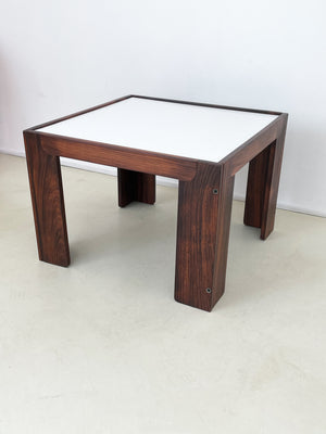 Model 771 Side Table in Rosewood by Afar & Tobia Scarpa for Cassina