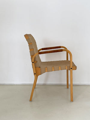 1960s Alvar Aalto Model 45 Arm Chair