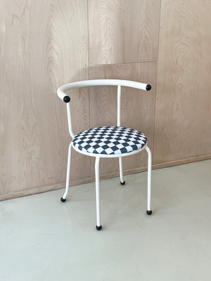 Postmodern Checkerboard Chair