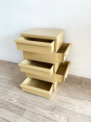 1970s Beige Stacking Drawers by Simon Fussell for Kartell