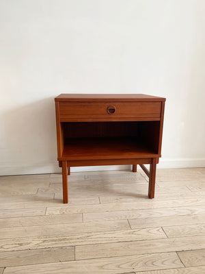 1960s Teak Sidetable Designed by Folke Ohlsson for Dux, Sweden