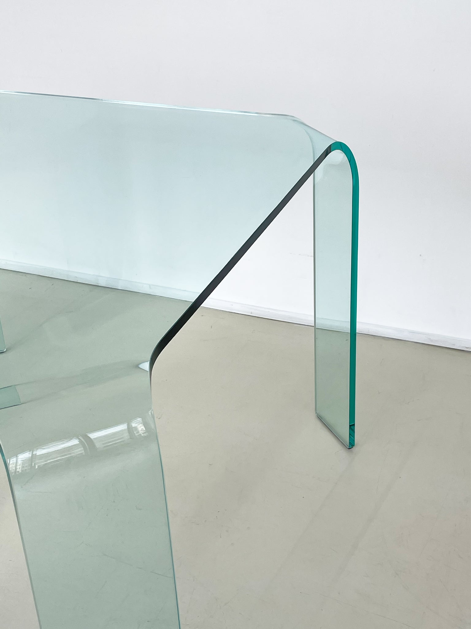 "Post Modern ""Rango"" Dining Table by Vittorio Livi for Fiam"