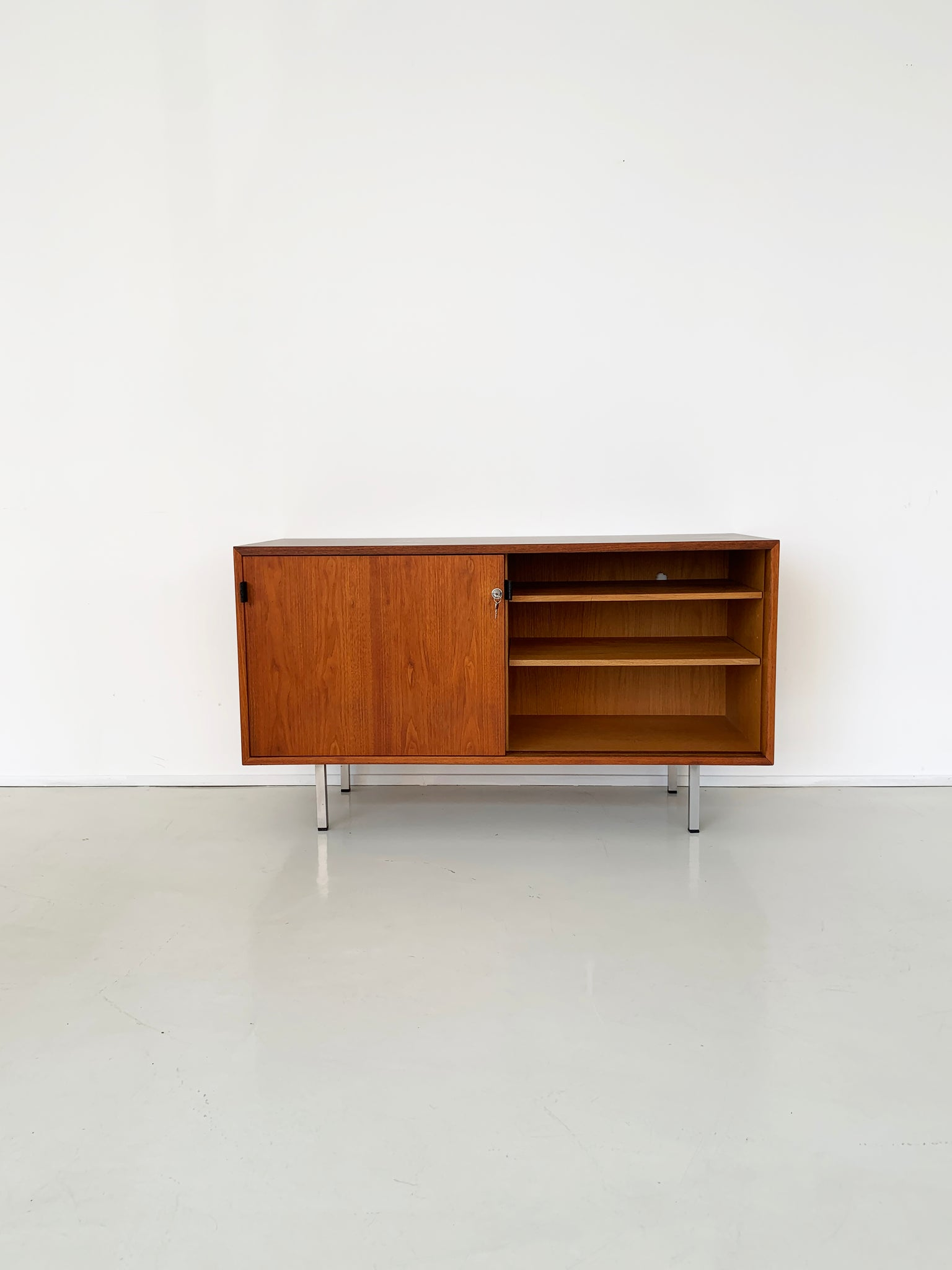 1968 Walnut Credenza by Florence Knoll