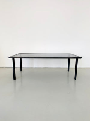 1970s Black Flyine Italian Coffee Table