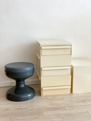 1970s Plastic Stacking Drawers by Simon Fussell for Kartell