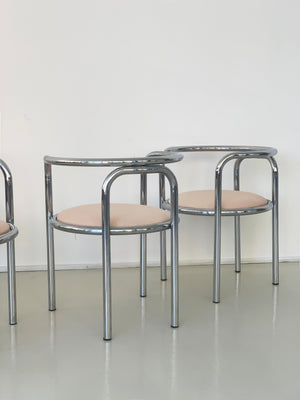 1960s Locus Solus Chairs by Gae Aulenti for Poltronova
