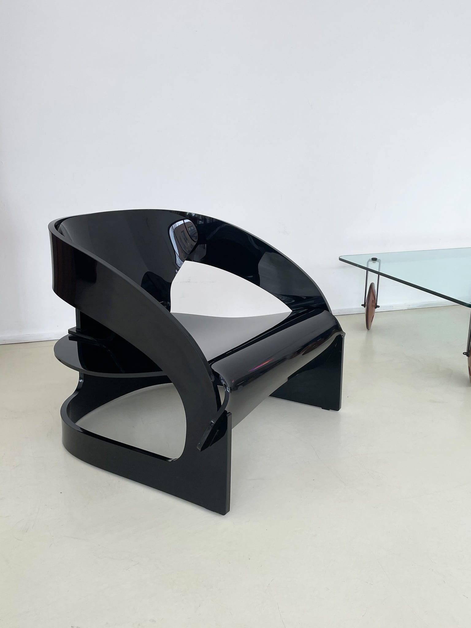 4801 Armchair by Joe Colombo for Kartell