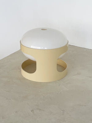 1960s Cream Kartell KD28 Table Lamp by Joe Colombo, Italy