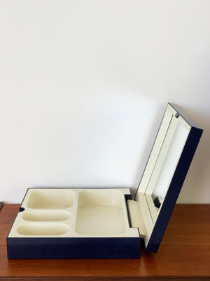 1970s Makio Hasuike for Gedy ABS Plastic Vanity Box