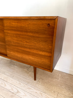 1950s Walnut Server by Mel Smilow