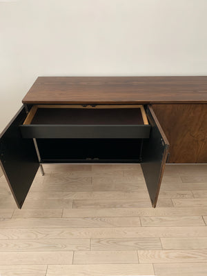 1970s Milo Baughman for Founders Rosewood Credenza