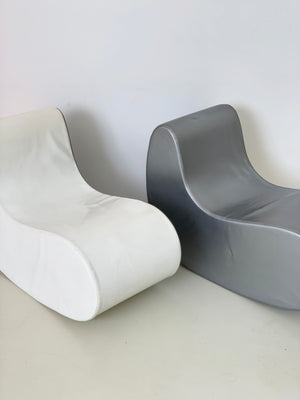 1960s Italian Rocking Boomerang Chairs - Pair