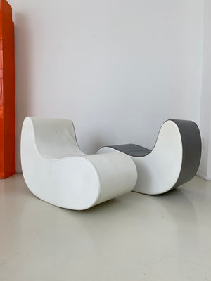 1960s Italian Rocking Boomerang Chairs - Each