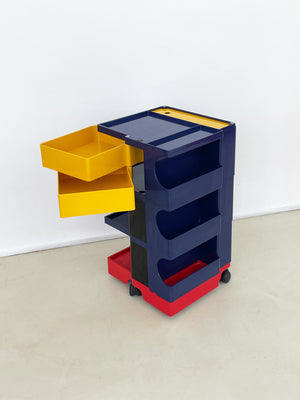 1970s Multi Color Boby Cart by Joe Colombo for Bieffeplast