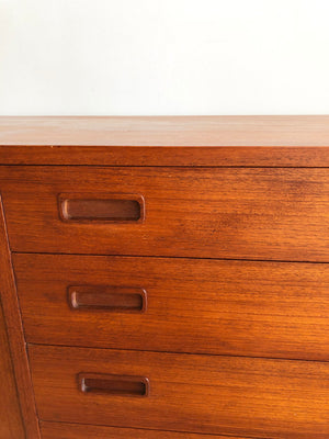 Mid Century Teak Danish credenza by Carlo Jensen for Hundevad & Co.