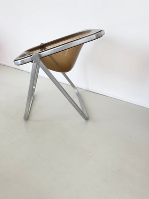 "1970s ""Plona"" Chair by Giancarlo Piretti for Castelli, Italy"