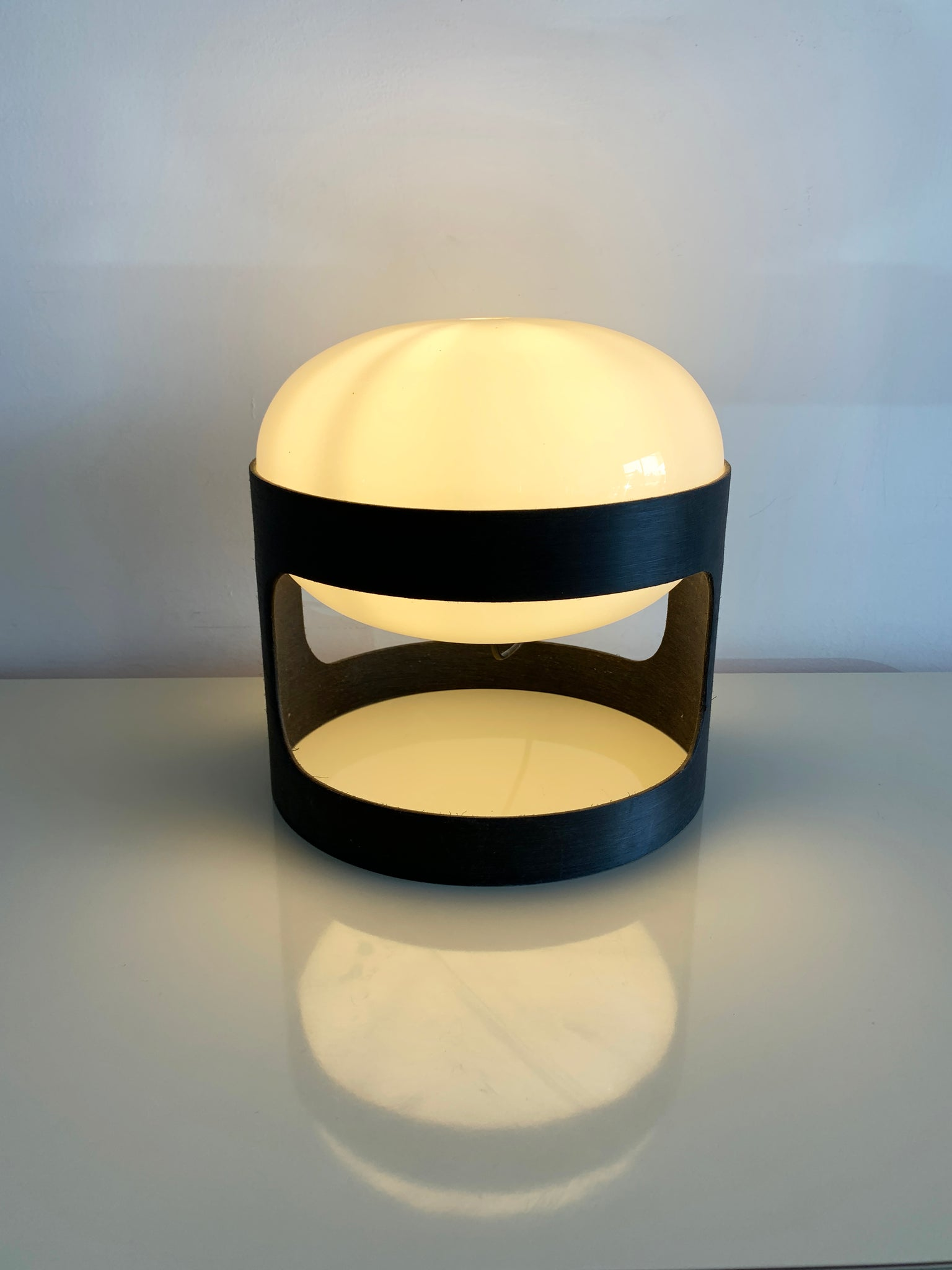 Pre-Production Ebanil KD 27 Table Lamp by Joe Colombo for Kartell