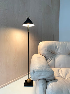 Robert Sonneman for Kovacs 1980s Floor Lamp