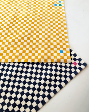 Home Union's Checkerboard Wabi-Sabi Wool Rugs