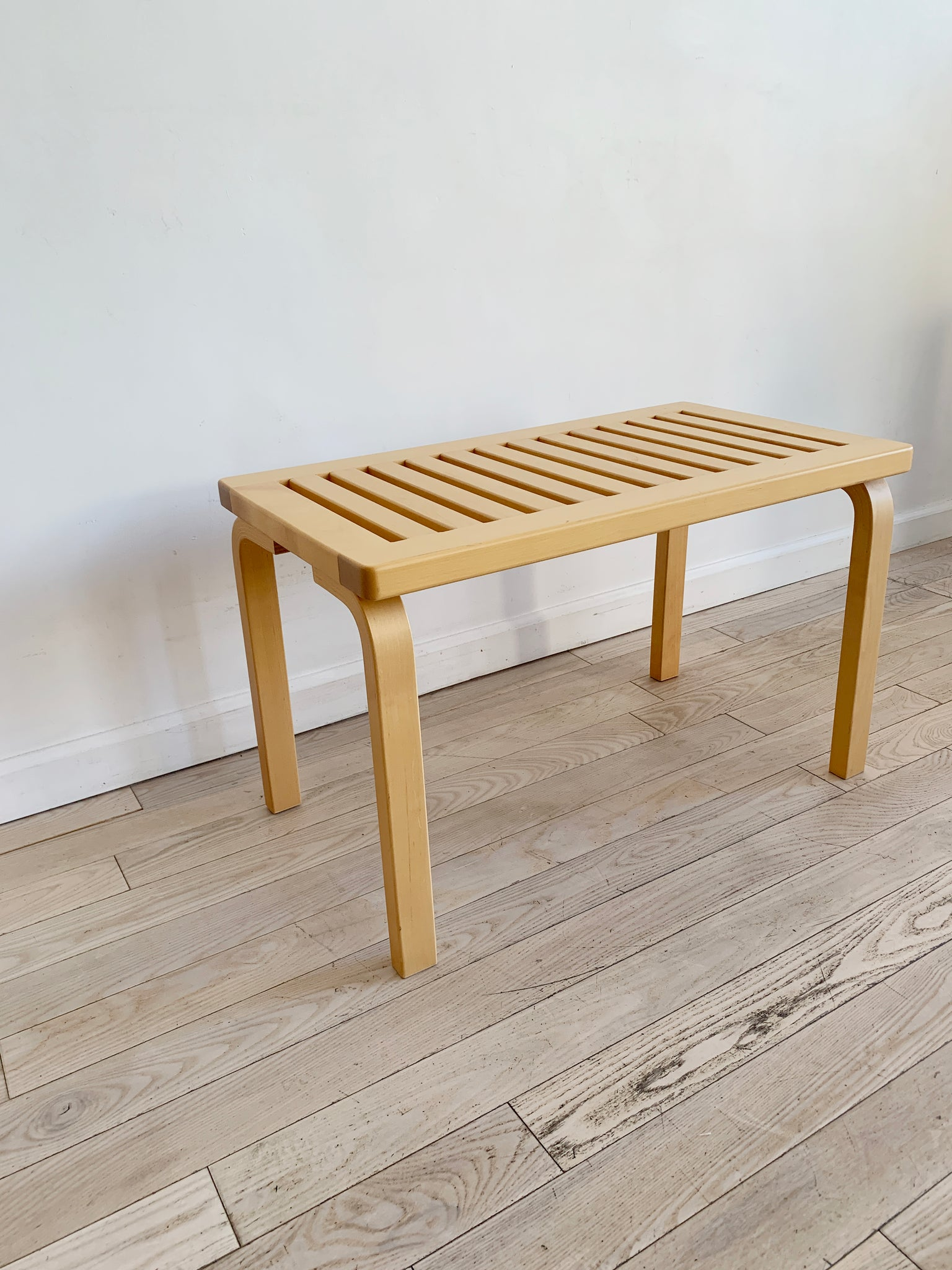 1960s Bench 153 By Alvar Aalto for ICF, Finland