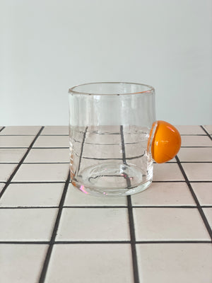 Sticky Hand Blown Bubble Tumbler Cup