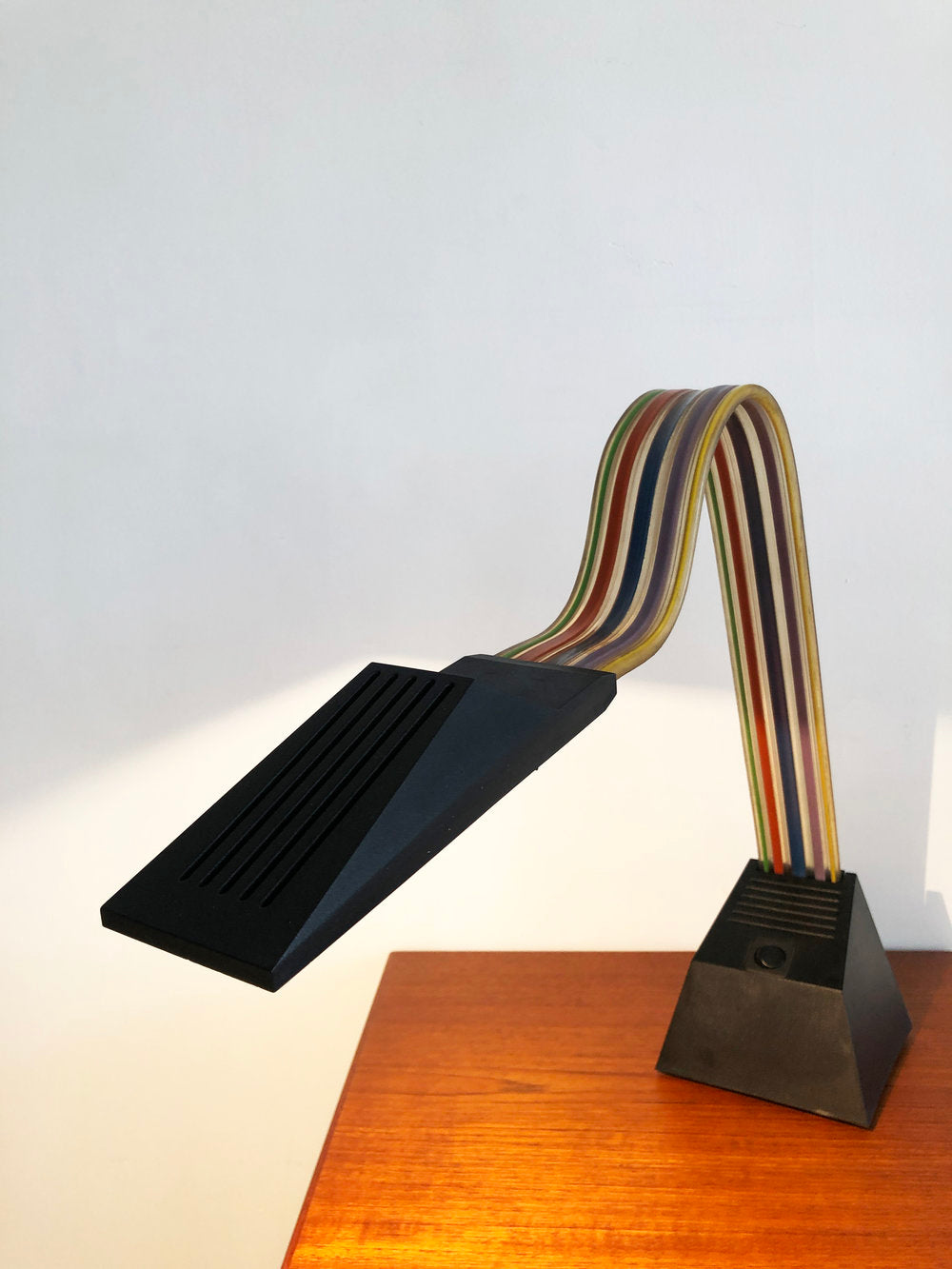 1983 Nastro Table Lamp by Alberto Fraser for Stilnovo, Italy