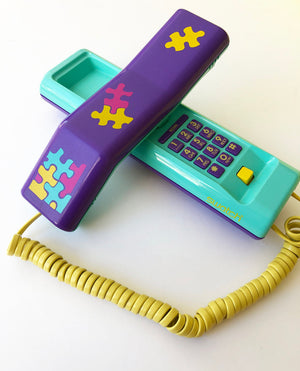 Swatch 1980s Twin Phone with Puzzle