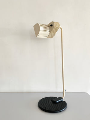 1980s Post Modern White Directrional Table Lamp by Belux, Spain