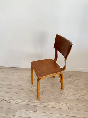 Mid Century Bentwood Thonet Desk Chair
