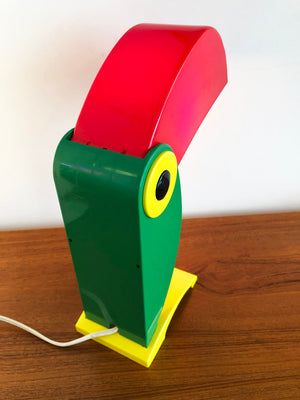 1968 Toucan Table Lamp by Old Timer Ferrari, Italy