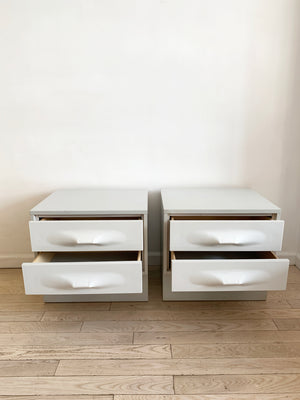 Pair of 1970s Treco Nightstands
