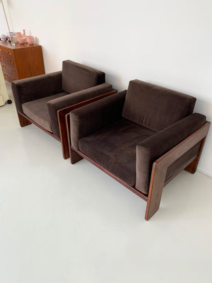 "1960s Rosewoos Tobia Scarpa ""Bastiano"" Club Chair"