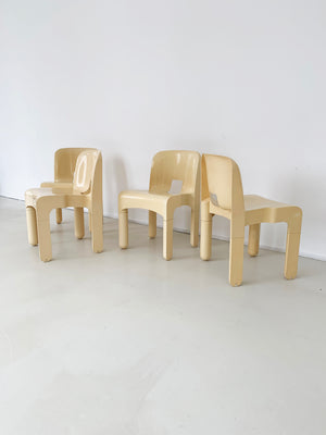 "1972 ABS Plastic ""Universale"" Chair by Joe Colombo for Kartell"