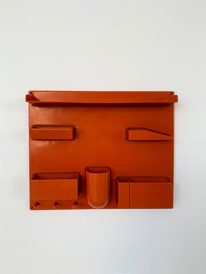 Orange Plastic Uten.Silo lll By Dorothee Maurer-Becker