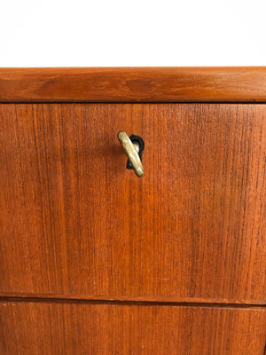 Mid Century teak Arne Vodder for Maurice Villency 9-Drawer Credenza